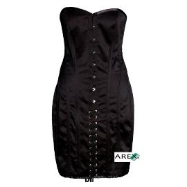 Satin Dress Corset