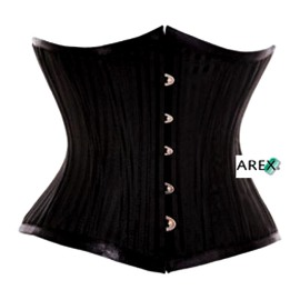 Stripe Satin Cincher