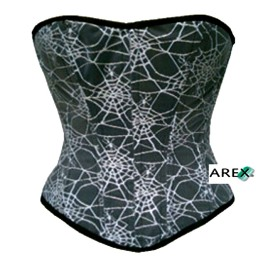 Printed Overbust Corset