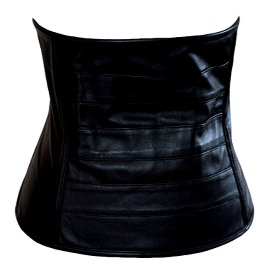 Black Leather Cincher