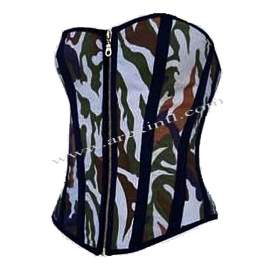 Commando Fabric Corsets