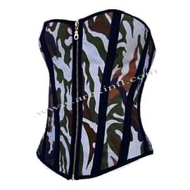 Commando Fabric Corsets